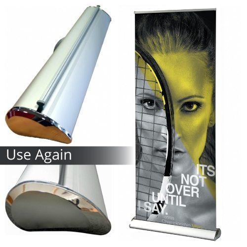 Interchangeable Standard Roll Up Banner