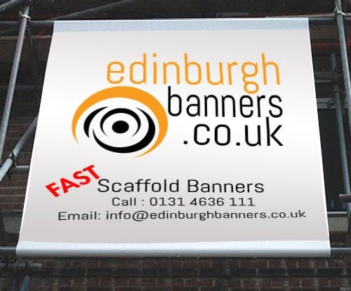 Edinburgh Scaffold PVC Banner