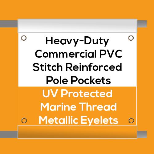 Heavy Duty Scaffold Banner