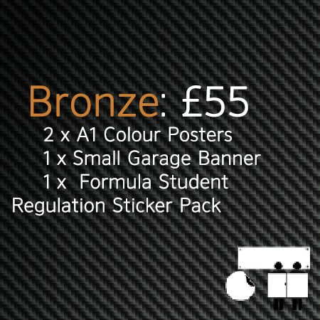 Formula Student Bronze Printing Package