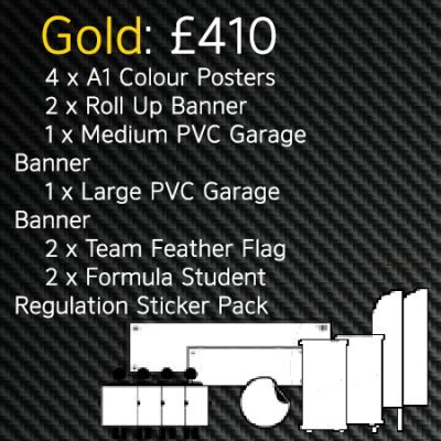Formula Student Gold Printing Package