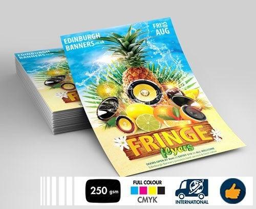 Edinburgh Fringe Festival Printing 2019