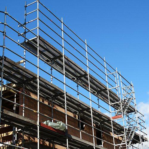 Scaffolding Banner
