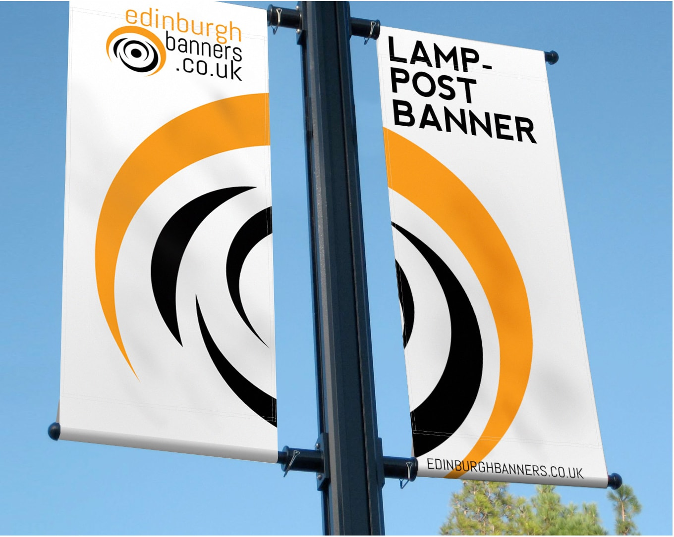PVC Lampost Banner Signs