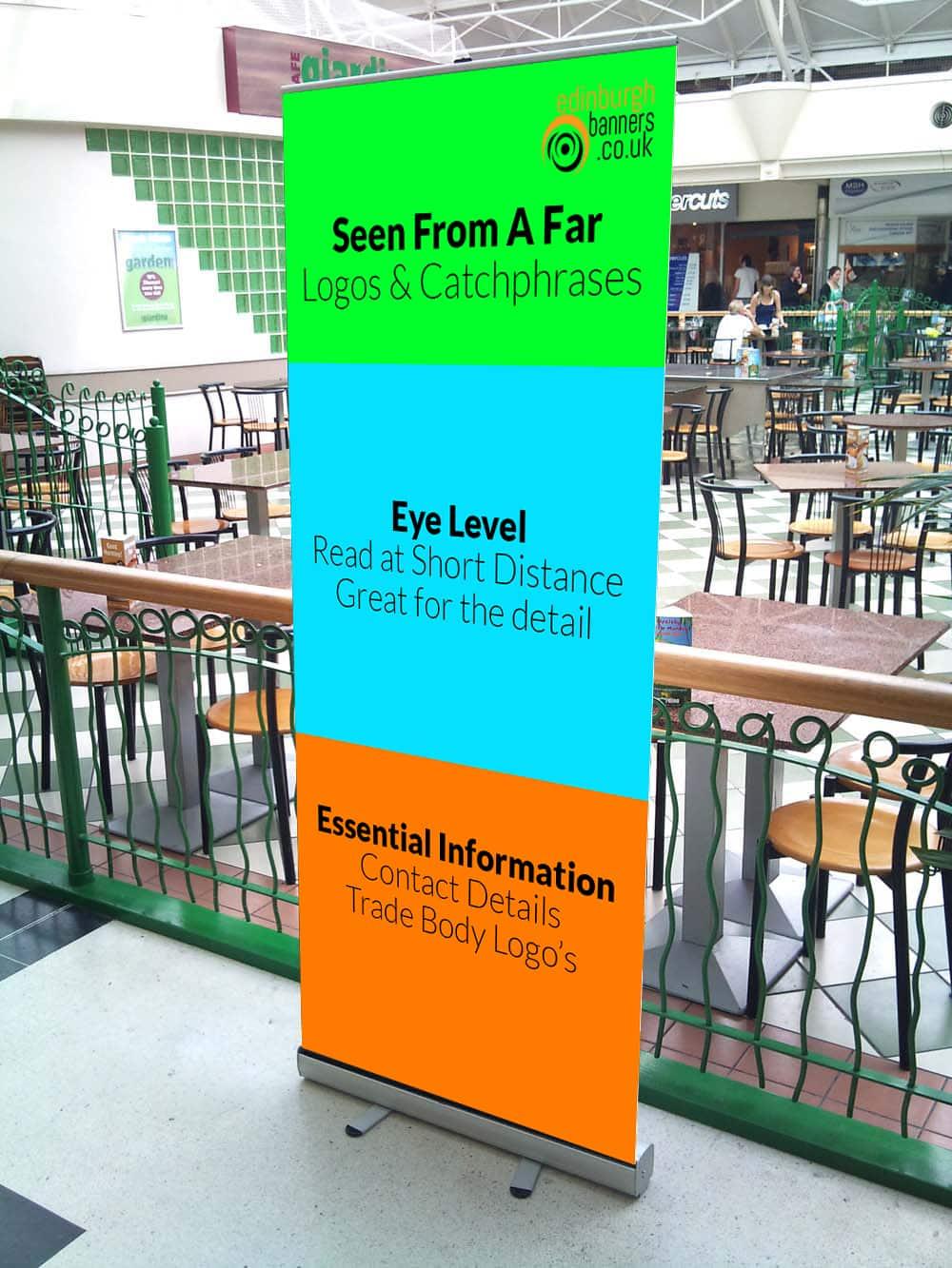 Roll Up Banner Design Tips