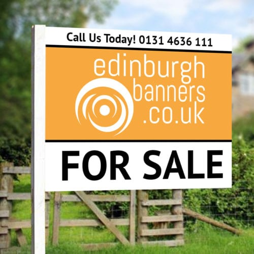 Flag Estate Agent Board