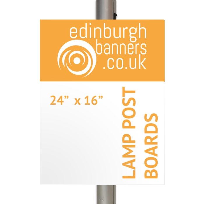 Lamp Post Board