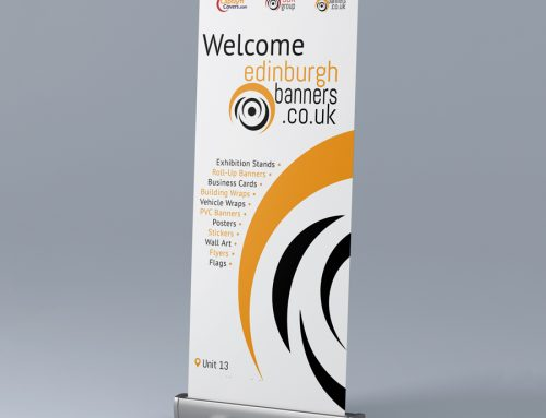 Cut your Printing and Advertising Budget by Replacing Roller Banner Graphics