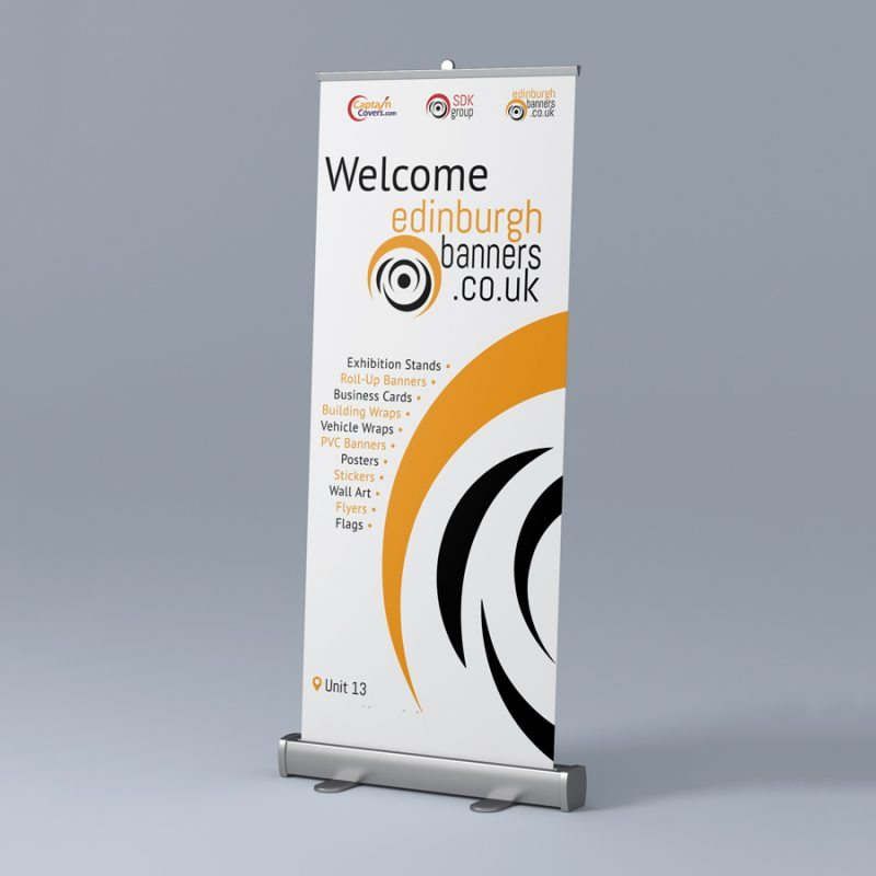 How to replace roller banner graphics