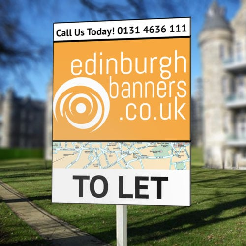 T-Board Estate Agent Sign