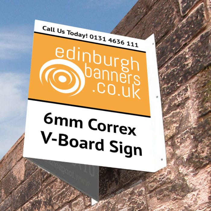 V-Board Estate Agent Sign