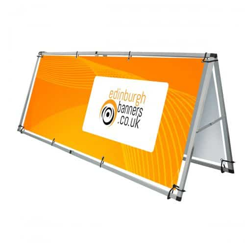 Portable PVC Banner Stand