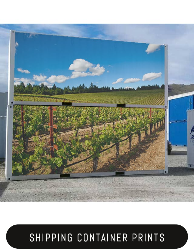 Shipping Container Wraps Amp Signs Container Advertising