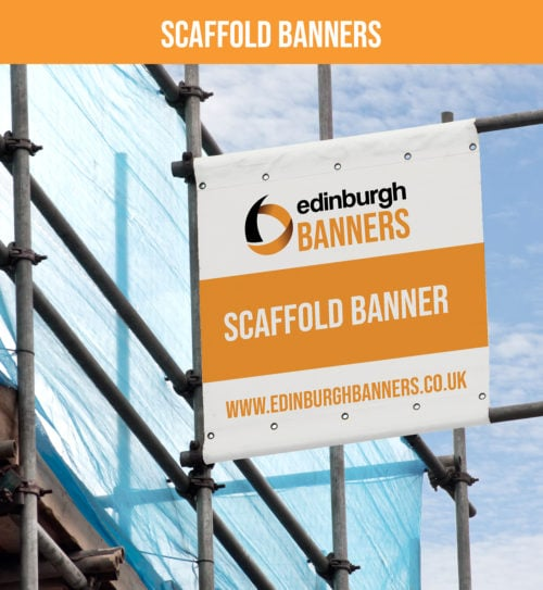 Printed Scaffold Banner