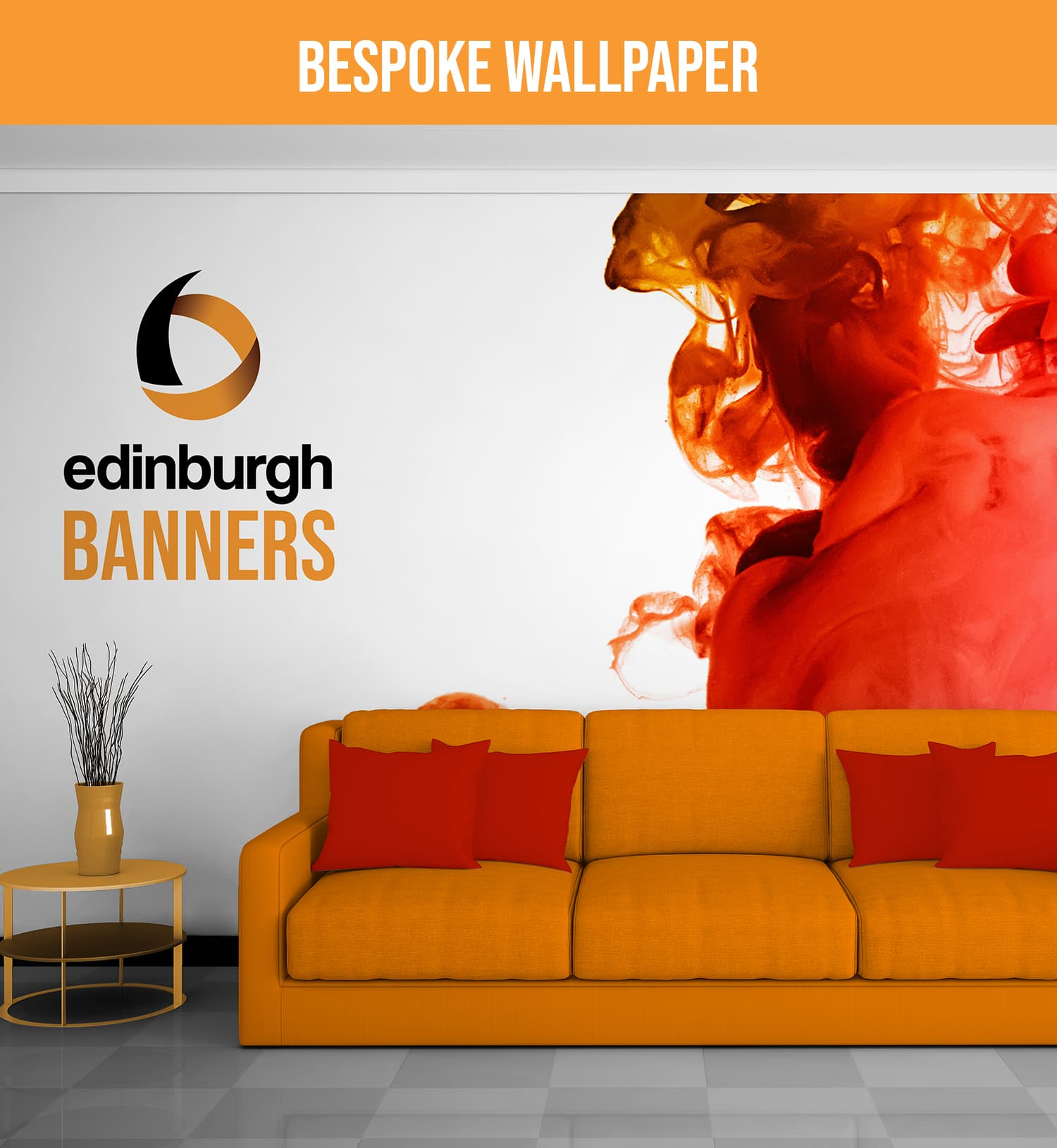 Edinburgh Banners Custom Wallpaper